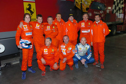 The Trofeo Pirelli Coppa Shell drivers
