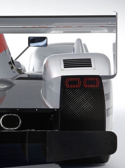 Detail of the new Audi R10