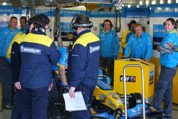 Michelin technicians at work