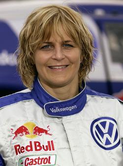 Volkswagen Motorsport: Tina Thorner, co-driver for Giniel De Villiers