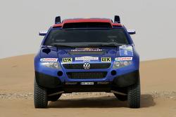 Volkswagen Motorsport: the Volkswagen Race Touareg 2