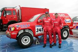 Team Nissan Dessoude presentation: Paul Belmondo and Bernard Irissou