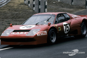 #75 North American Racing Team Ferrari 365 GT4 BB: Franois Migault, Lucien Guitteny