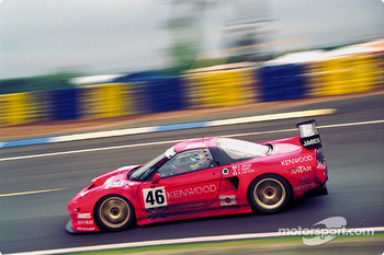 #46 Honda NSX: Hideki Okada, Philippe Favre, Naoki Hattori