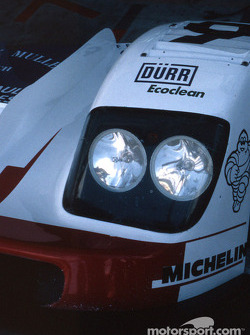Headlights of the Courage Compétition Courage C36 Porsche