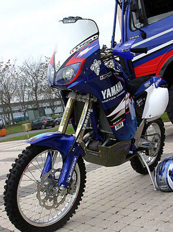 Yamaha Motor France: the Yamaha WR450F of David Frétigné