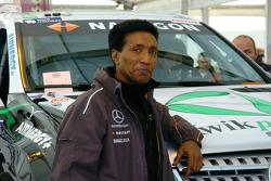 Kwikpower Mercedes-Benz team physiotherapist Balbir Singh