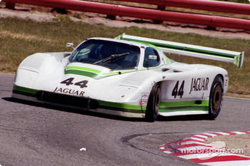 #44 Group 44 Jaguar XJR-7: Hurley Haywood, John Morton