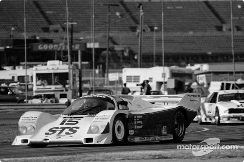 #15 Kalagian Porsche 962: Jim Rothbarth, Bernard Jourdain, Michel Jourdain, Rob Stevens