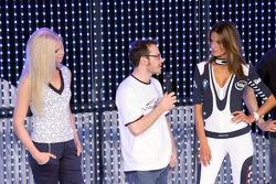 Christina Kruse, Jacques Villeneuve and Alessandra Ambrosio