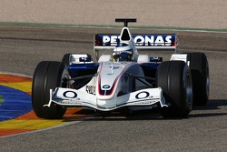 Nick Heidfeld tests the BMW Sauber F1.06