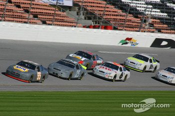 Michael Waltrip leads the pack