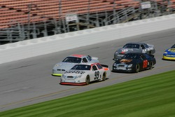 Carl Edwards leads the pack