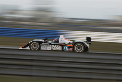 #37 Intersport Racing Lola B05/40-AER: Jon Field, Clint Field, Liz Halliday