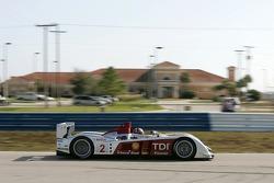#2 Audi Sport North America Audi R10: Rinaldo Capello