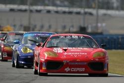 #52 Mastercar Ferrari 360GT: Luis Monzon, Costantino Bertuzzi, Bo McCormick