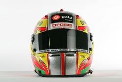 Helmet of Tiago Monteiro