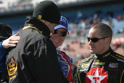 Max Papis, Brian Vickers and Casey Mears