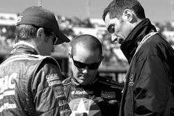 Brian Vickers, Casey Mears and Max Papis