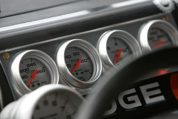 Dashboard of the #9 Dodge
