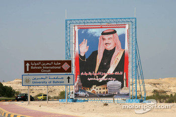 This way to Bahrain International Circuit