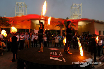 Bahrain GP welcome party