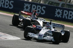 Jacques Villeneuve and Kimi Raikkonen