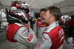 Rinaldo Capello, Allan McNish and Tom Kristensen