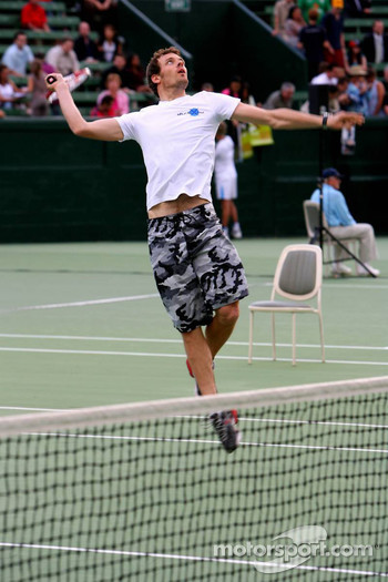 Pitstop tennis Pro-Am charity event: Alexander Wurz