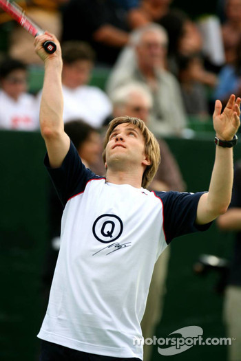 Pitstop tennis Pro-Am charity event: Nick Heidfeld
