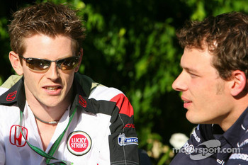 Anthony Davidson and Alexander Wurz