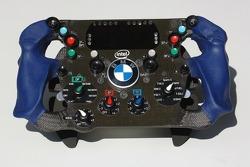 Steering wheel of Nick Heidfeld