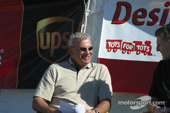 Dale Jarrett, Toys for Tots Press Conference