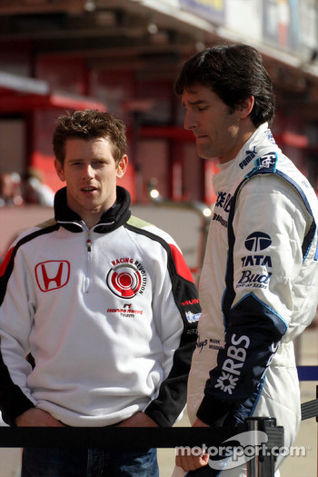 Anthony Davidson and Mark Webber