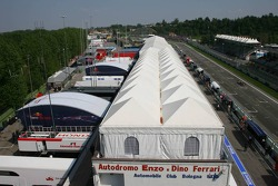 The paddock and pits