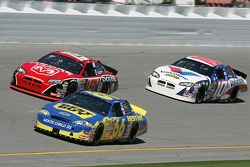 Jeff Green, Jeremy Mayfield and Scott Riggs