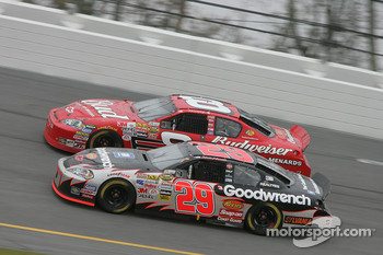 Dale Earnhardt Jr. and Kevin Harvick