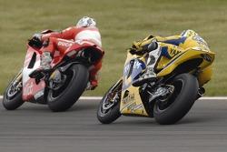 Sete Gibernau and Valentino Rossi