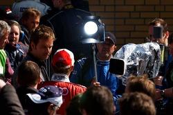 Tom Kristensen interviewed by the German Television station ARD