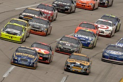 Jamie McMurray and Matt Kenseth lead the pack
