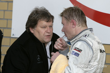 Norbert Haug and Mika Hakkinen