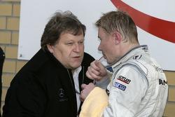 Norbert Haug and Mika Hakkinen