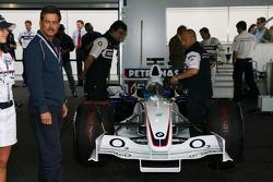 Visit of BMW Sauber F1 team Pitlane Park: Dr. Mario Theissen