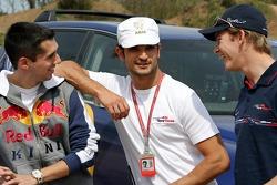 Red Bull goes off track: Neel Jani, Vitantonio Liuzzi and Scott Speed