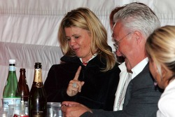 Corina Schumacher and Rolf Schumacher