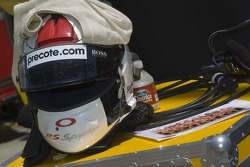 Sascha Maassen's helmet