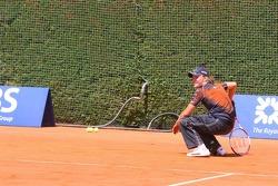 Tennis match: Nico Rosberg