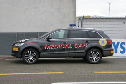 Audi Q7 Medical Car For 24 Hours Of Le Mans