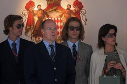 Prince Albert II of Monaco and Princess Caroline