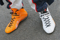Vitantonio Liuzzi's shoes